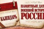 19 апреля - Памятна дата России